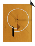 Proun, c.1920-21 Art by El Lissitzky
