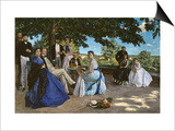 Family Portrait, c.1867 Prints by Frederic Bazille