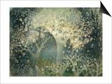Beautiful Winter Print by Yunlan He