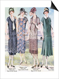 Womens Mail Order Catalogues, USA, 1920 Prints