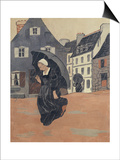 The Rainshower, c.1893 Print by Paul Serusier