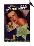 1930s USA Irresitible Magazine Advertisement Posters
