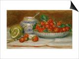 Strawberries, circa 1905 Posters by Pierre-Auguste Renoir