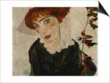 Portrait of Wally, 1912 Posters by Egon Schiele