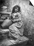 Portrait of a Sicilian Girl Posters