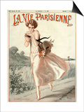 La Vie Parisienne, A Vallee, 1924, France Art