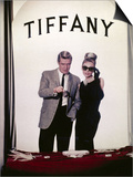 "Audrey Hepburn, George Peppard. ""Breakfast At Tiffany's"" 1961, Directed by Blake Edwards Art"