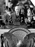 President Harry S. Truman Delivers Inaugural Address from Capitol Portico, January 20, 1949 Art