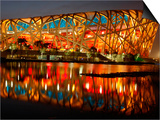 Bird's Nest, 2008 Summer Olympics, Track and Field, Beijing, China Posters