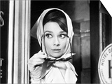 "Audrey Hepburn. ""Charade"" 1963, Directed by Stanley Donen Prints"