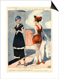 La Vie Parisienne, Georges Leonnec, 1918, France Prints