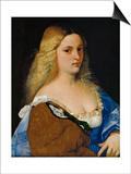 Violante Print by  Titian (Tiziano Vecelli)