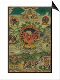 Ganapati sous son aspect Mahârakta Prints