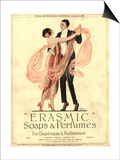 Erasmic Soap Perfume, Evening-Dress Dancing, UK, 1920 Prints