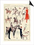La Vie Parisienne, L Vallet, France Posters