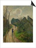 Ascending Path in Osny, 1883 Posters by Camille Pissarro