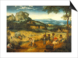 The Hay Harvest Prints by Pieter Bruegel the Elder