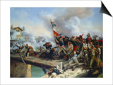 The Battle of Pont D'Arcole, 1826 Prints by Horace Vernet