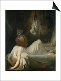 The Nightmare, 1790/91 Poster by Henry Fuseli