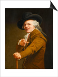 Portrait of the Artist in the Guise of a Mockingbird Prints by Joseph Ducreux