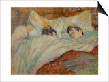The Bed (Le Lit), 1892 Posters by Henri de Toulouse-Lautrec