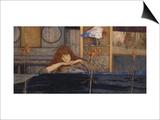 Ich Schliesse Mich Selbst Ein (I Lock My Door Upon Myself), 1891 Poster by Fernand Khnopff