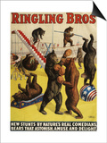 Ringling Bros, Poster, 1900 Art