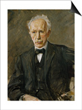 Composer Richard Strauss (1864-1949) Prints by Max Liebermann