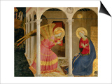 Cortona Altarpiece with the Annunciation Posters by  Fra Angelico