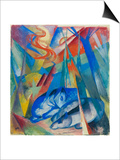 Sleeping Animals, 1913 Posters by Franz Marc