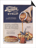 Temtor, Maple Flavoured Syrup, USA, 1920 Prints