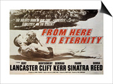 From Here To Eternity, 1953, Directed by Fred Zinnemann Poster