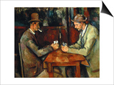 The Card Players, about 1890/95 Prints by Paul Cézanne