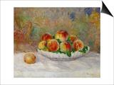 Peaches Prints by Pierre-Auguste Renoir