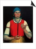 Worker, 1933 Art by Kasimir Malevich