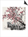 Plum Blossoms Print by Wanqi Zhang