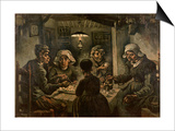 The Potato Eaters Print by Vincent van Gogh