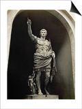 Emperor Augustus in Military Dress, Marble Figure from the Prima Porta Posters