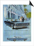 1960s USA Pontiac Grand Prix Magazine Advertisement Poster