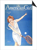 The American Girl, 1928, USA Print