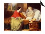 Mozart Composes His Requiem, C19th Prints by William James Grant