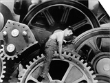 "Charlie Chaplin. ""The Masses"" 1936, ""Modern Times"" Directed by Charles Chaplin Prints"
