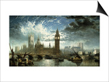 The Houses of Parliament Prints by John Anderson