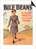 Bile Beans, Uniforms WWII Medical Medicine, UK, 1940 Posters