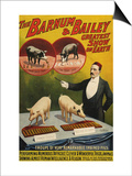 Barnum and Bailey, Poster, 1900 Posters