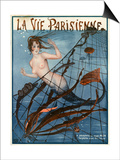 1920s France La Vie Parisienne Magazine Cover Print