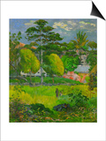 Landscape, 1901 Prints by Paul Gauguin