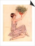 Mistletoe, UK, 1920 Prints