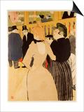 Moulin Rouge (La Goulue Et La Mome Fromage) Posters by Henri de Toulouse-Lautrec