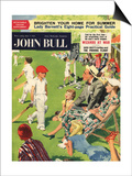 John Bull, Cricket Children Magazine, UK, 1950 Posters